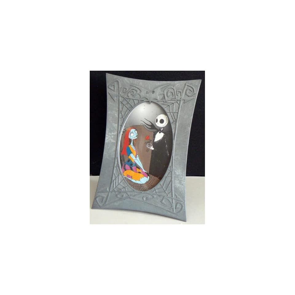 Nightmare Before Christmas Jack Sally Pewter Frame On Popscreen