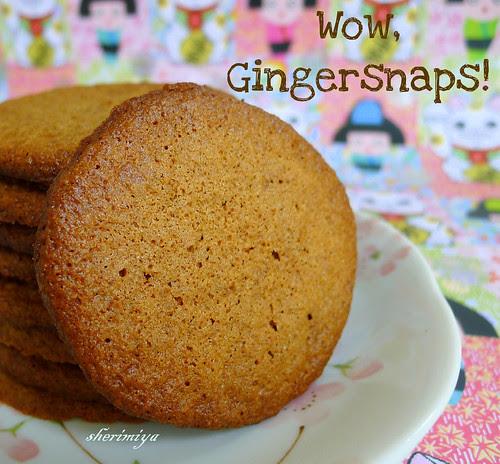 Gingersnaps (gluten-free) by sherimiya ♥