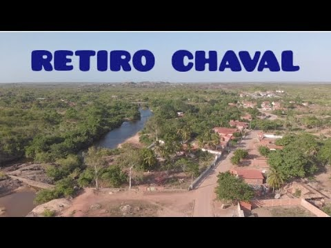 Imagens aéreas do Retiro (Chaval/CE) - por Antônio J. Sales