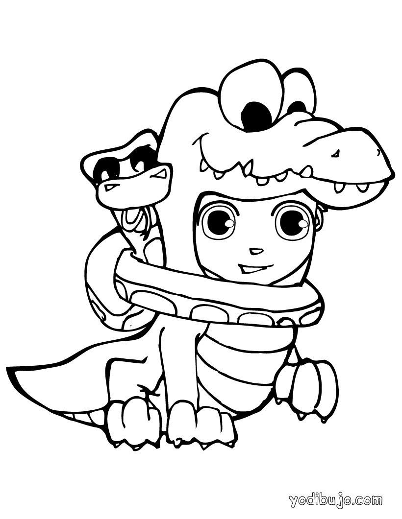 Dibujos Para Colorear Monstruos De Halloween Eshellokidscom