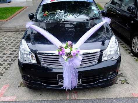 Aura Touch Beauty and Bridal: Wedding Car Decoration for