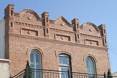 henderson building facade detail