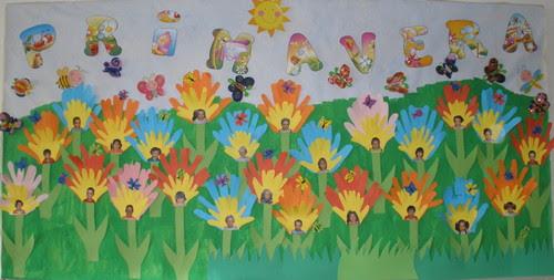 Mural Primavera Educacao Infantil