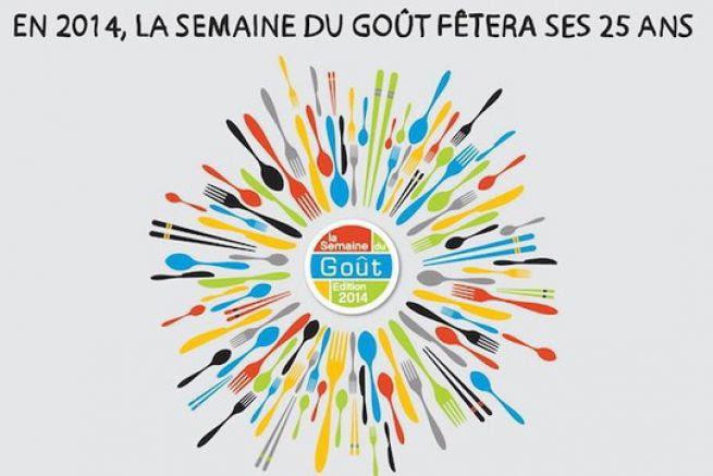 La Semaine du Goût fête sa 25e édition du 13 au 19 octobre 2014