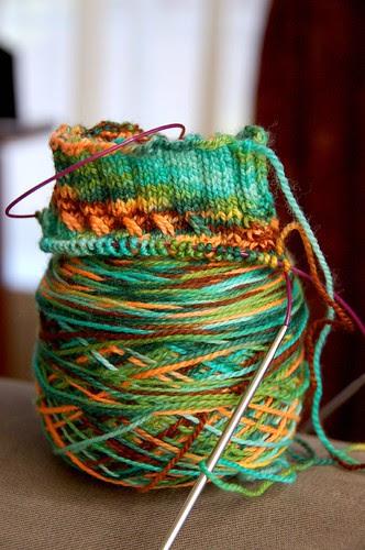 Three Irish Girls sock yarn