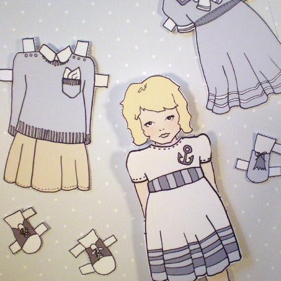 Emilee Rose's Paper Doll Sets