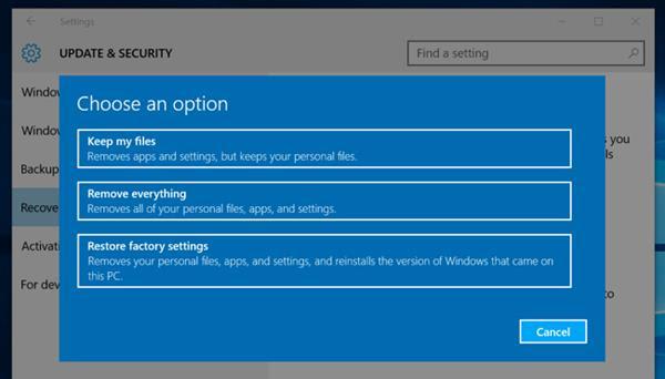 Cara Instal Ulang Windows 10 Tanpa CD/DVD