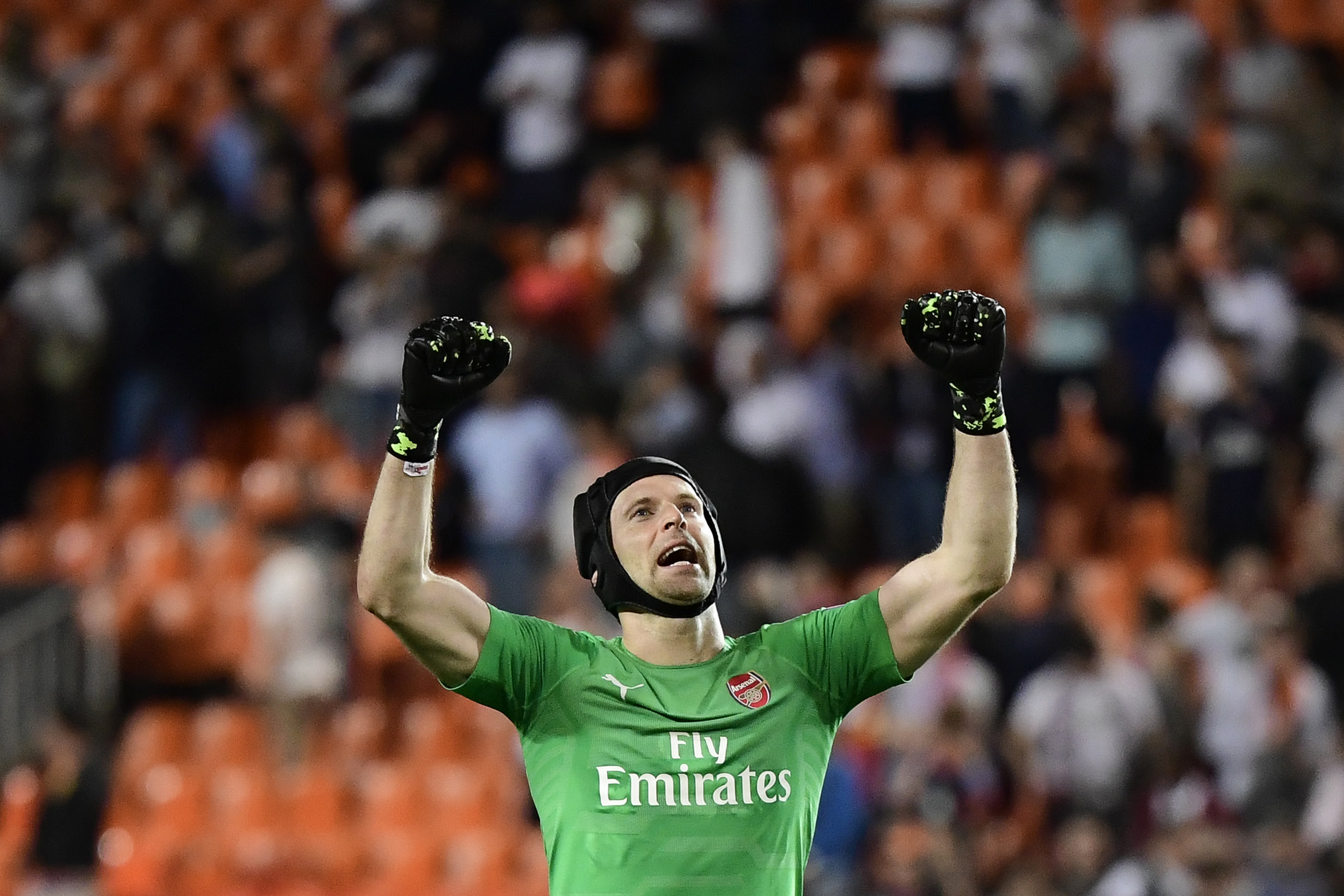 Cech aiming to bow out on a high note. (Photo courtesy: AFP/Getty)