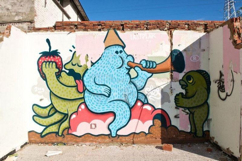A vila condenada de Doel e sua arte de rua surpreendente 12