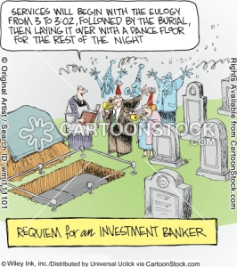 bankers funeral