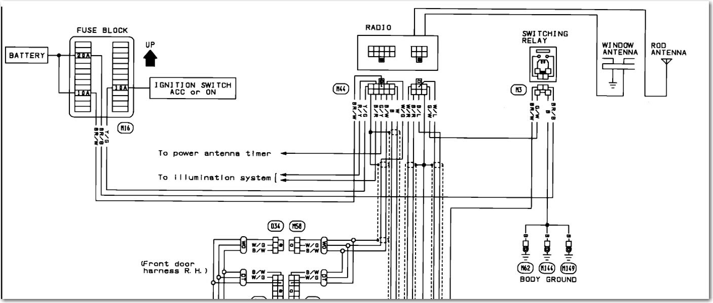 Wrg 1907 Nissan Micra Wiring Diagram For Stereo