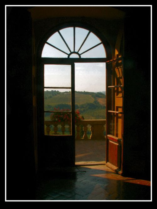 Balcony overlooking Tuscany by ~DancingPolaris