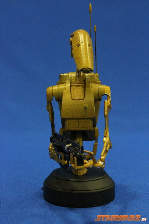 Battle Droid busto Gentle Giant 03