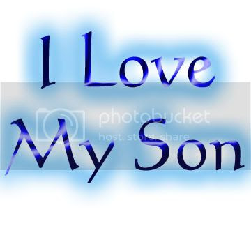 I Love My Son Cool Graphic