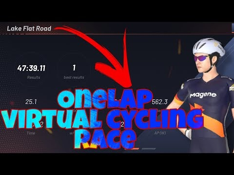 ONELAP LAKE FLAT ROAD VIRTUAL CYCLING