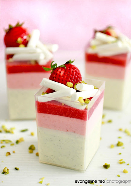 Yogurt Panna Cotta