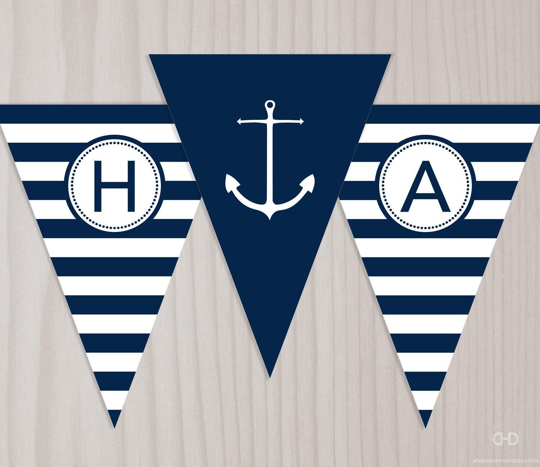 Nautical flags | Etsy