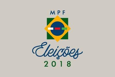 Arte com a bandeira do Brasil e com a escrita Eleições 2018 embaixo