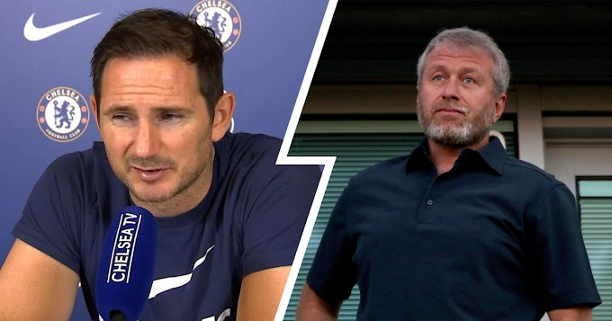 Frank Lampard reveals what his relationship with Chelsea owner Roman Abramovich looks like