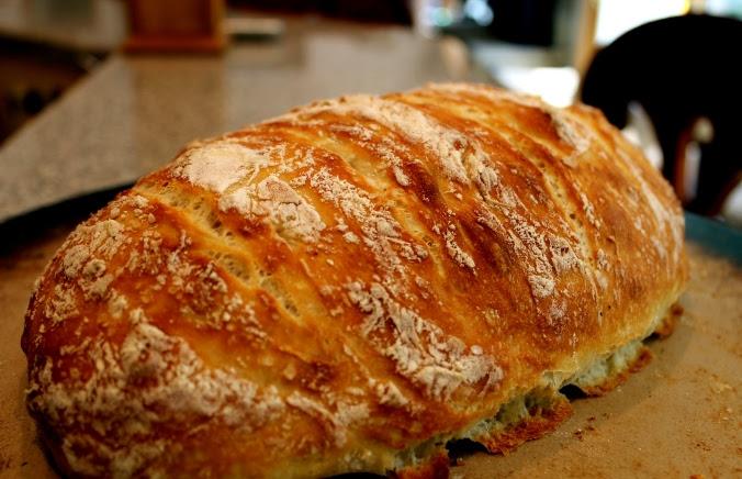 Homemade Rustic Crusty Bread | life in between