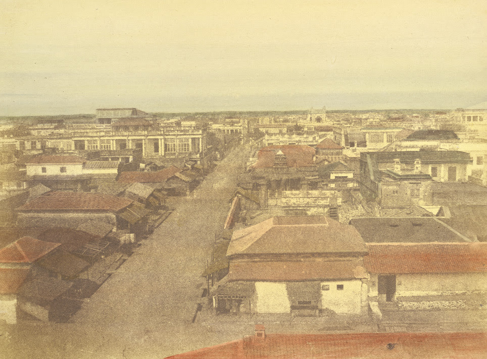 View of black [George] town, Madras 24842