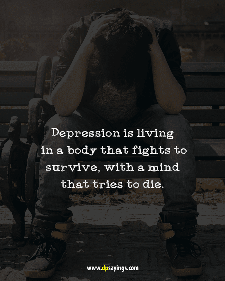 97 Deep Depression Quotes And Sayings - DP Sayings