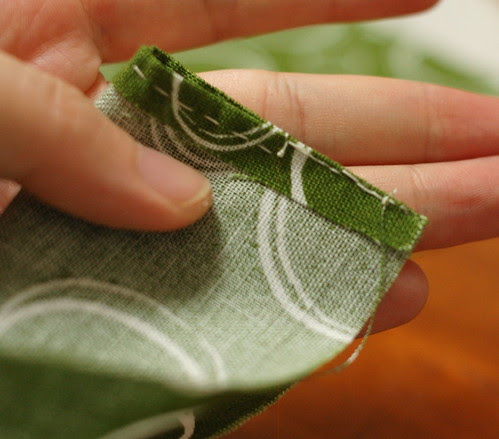 How to make a petit pouch 11