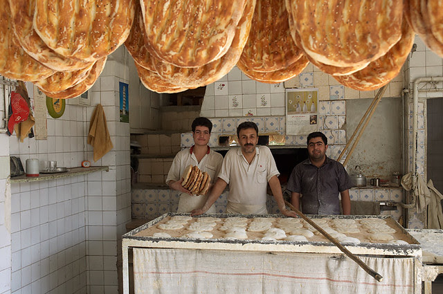 Inside Barbari Bakery