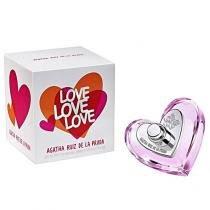 Agatha Ruiz de La Prada Love Love Love - Perfume feminino Eau de Toilette 50ml