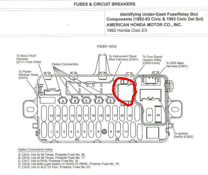 Del Sol Fuse Box Diagram Led Stop Turn Tail Light Wiring Diagram Power Poles 2010menanti Jeanjaures37 Fr