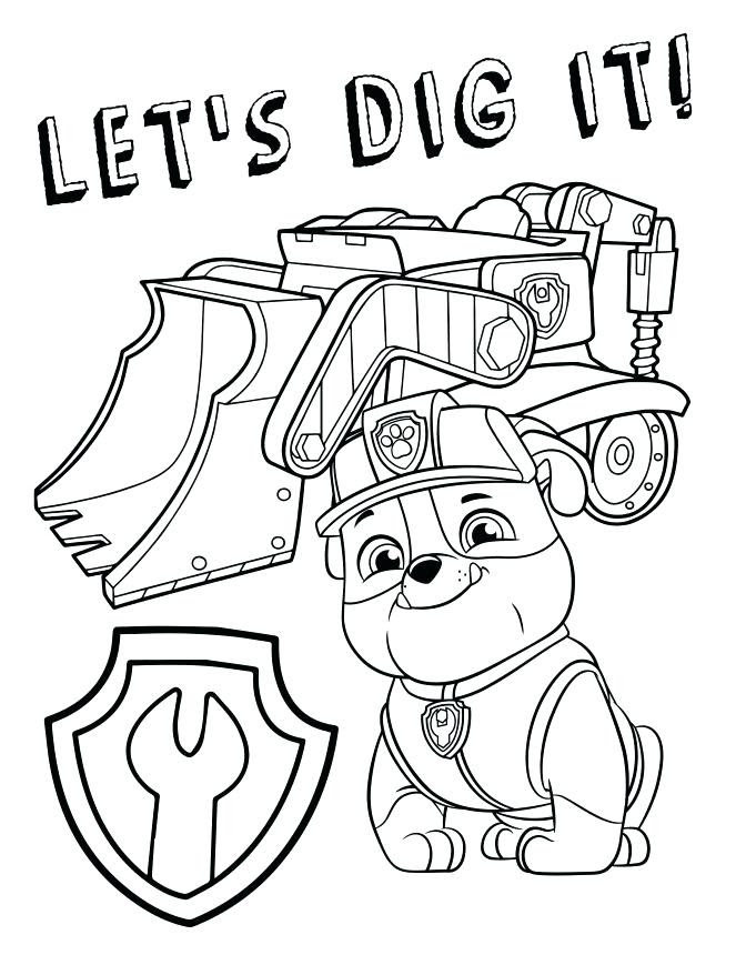 Paw Patrol Coloring Pages | Free Printable Coloring Page