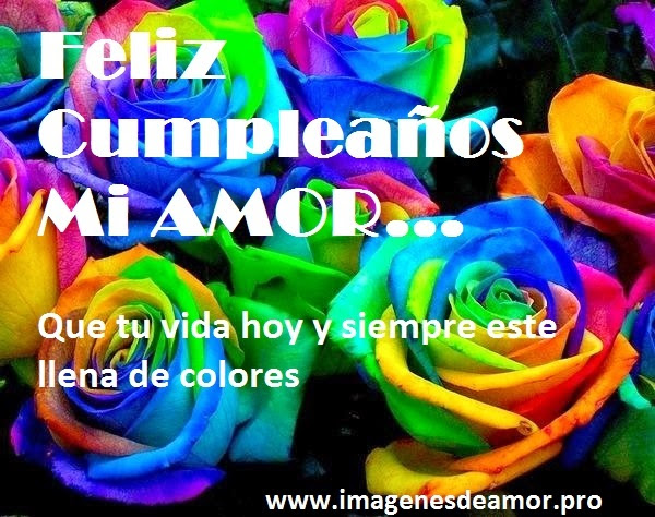 7 Imagenes De Feliz Cumpleanos Mi Amor Facebook