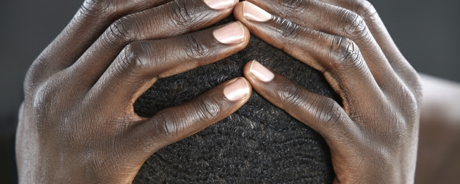 Image result for images of a confessing black man