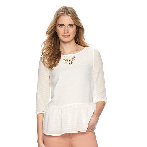 Women's LC Lauren Conrad Babydoll Top