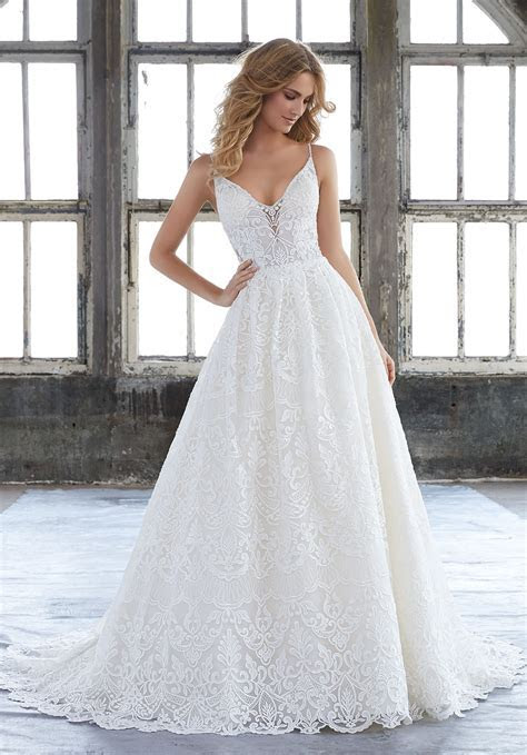 Kasey Wedding Dress   Style 8204   Morilee