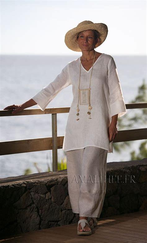 linen tunic ideas  pinterest tunic linen