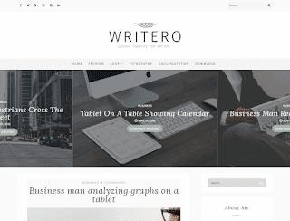 Writero Blogger Template