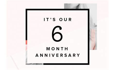 17 Best ideas about 6 Month Anniversary on Pinterest