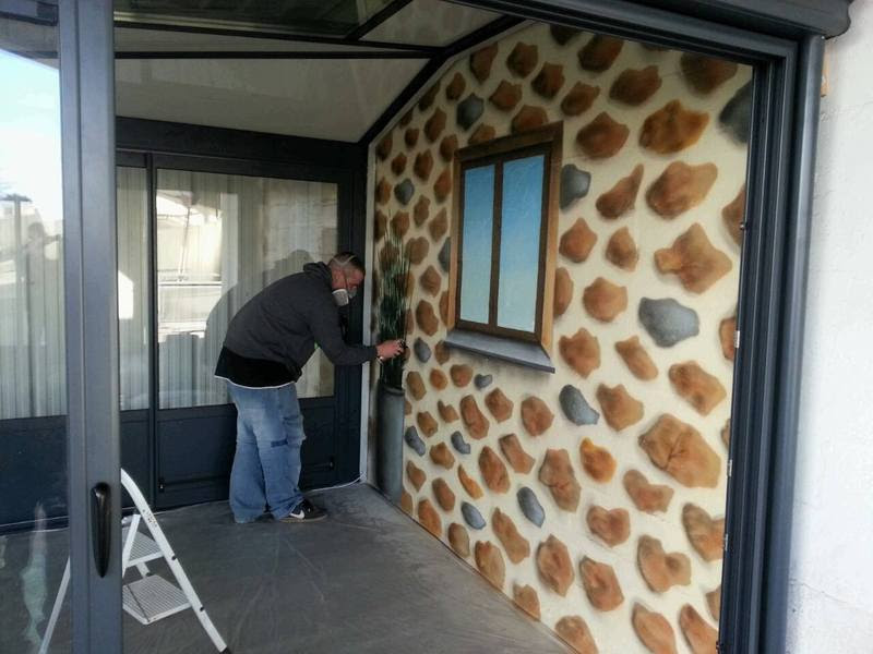 Peinture Graffiti Chambre Salon Déco Jardin Terrasse