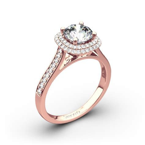 Simon G. MR2395 Passion Diamond Engagement Ring