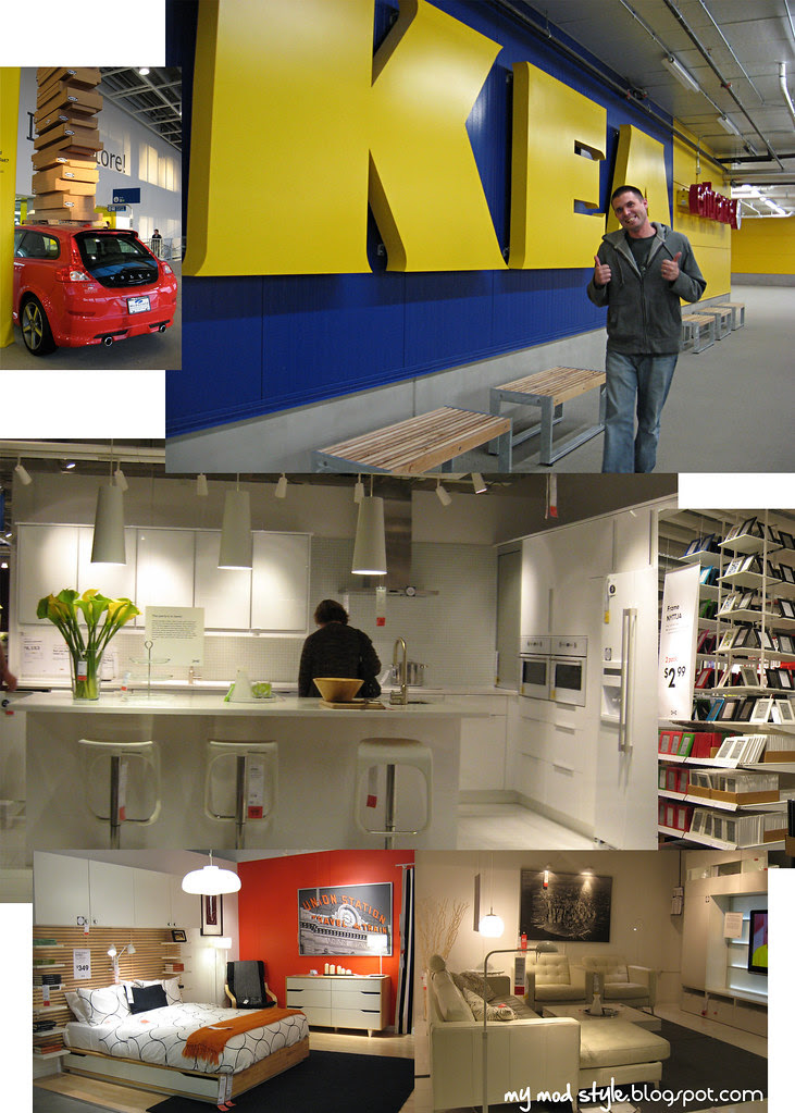 IKEA Store Collage