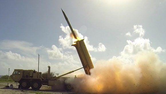 Sistema antimisiles estadounidense THAAD. Foto: agencias.