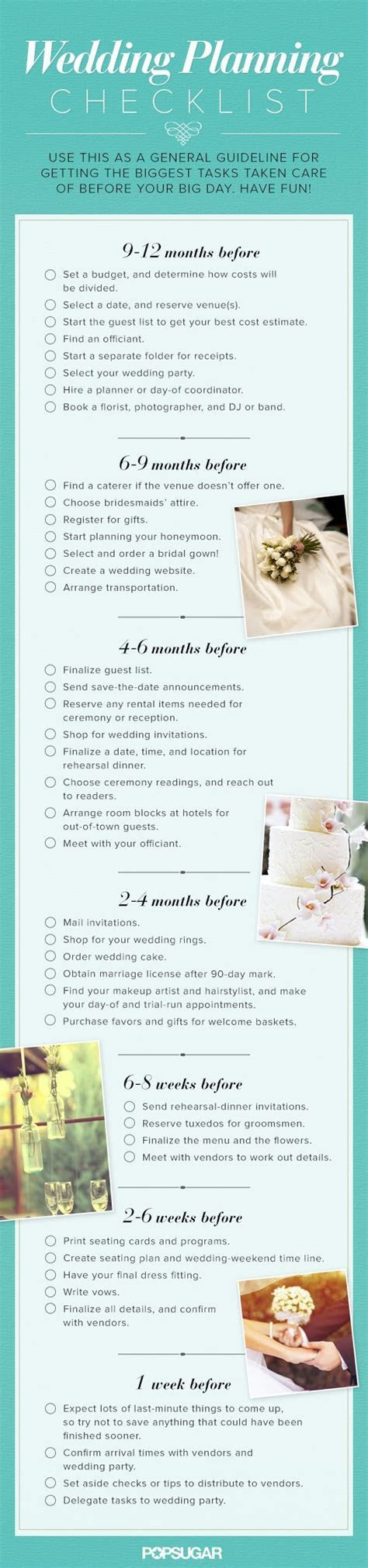 25  best ideas about Wedding planning checklist on