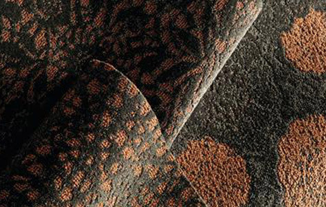 lusterous carpeting, modern carpet, modular carpet design, NeoCon 2011, NSF Gold Certified flooring, piece-dyed carpet, post-consumer recycled carpet, sustainable carpet design