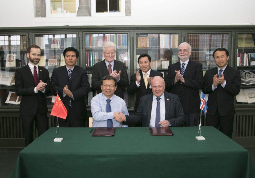 Image result for Jin Zhijan, ambassador for China in Iceland