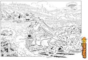 Asterix e la Corsa d'Italia! Esce il 26 ottobre 2017