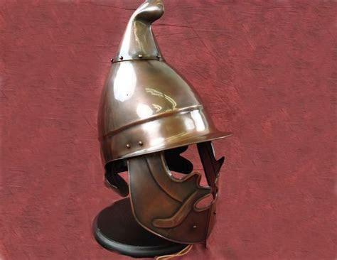 armour weapons full size helmets macedonian heavy