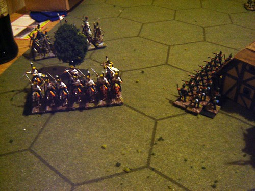 French hussars to attack