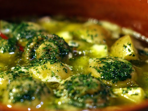 Mushrooms in Olive Oil