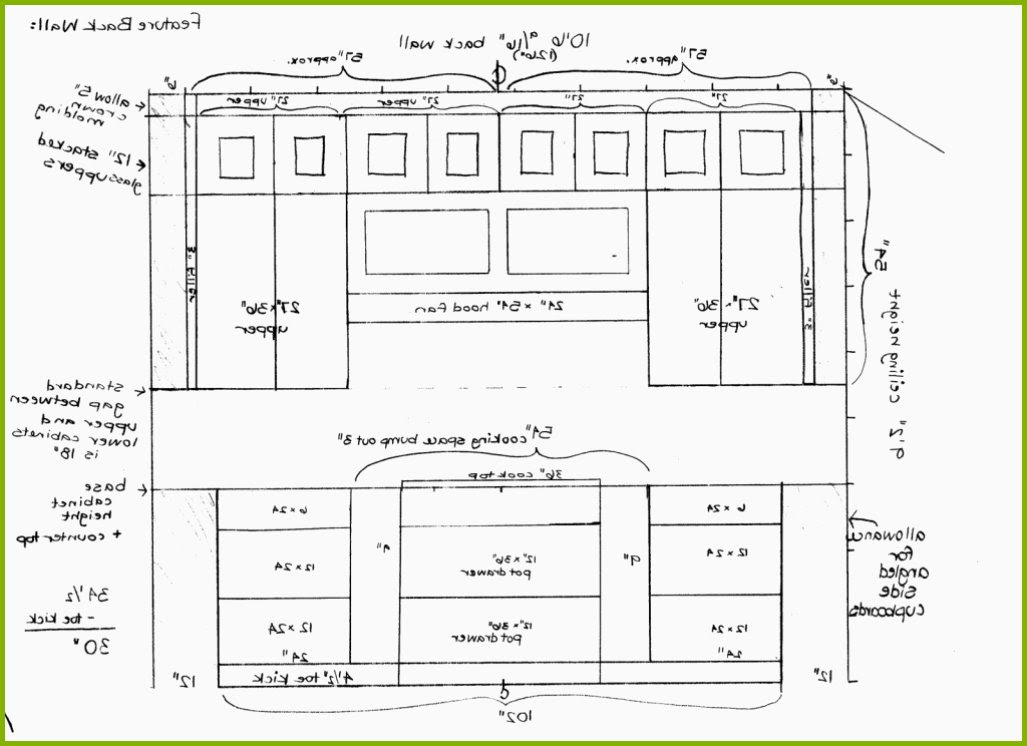 Kitchen Cabinets Drawing at GetDrawings   Free download